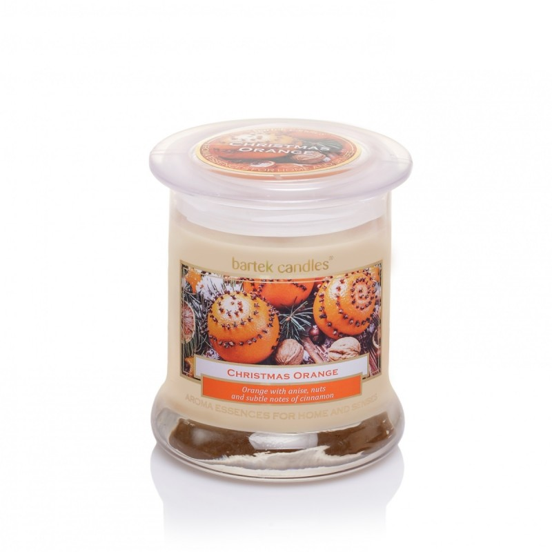 Świeca zapachowa duży słój Christmas Orange Labelled
