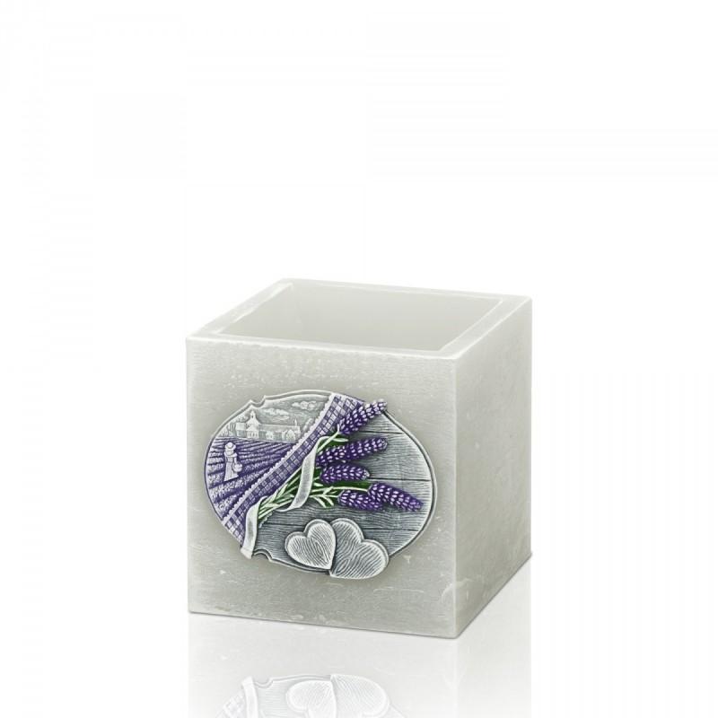 Lavender Kiss lampion kwadrat 110x105
