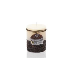 Rustic Coffee słupek 70x90-ecru