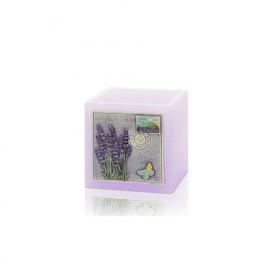 Lavender Lamp lampion kwadrat 110x105