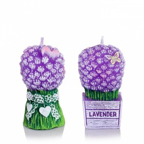 LAWENDER BUKIET SECENTED HANDMADE CANDLE